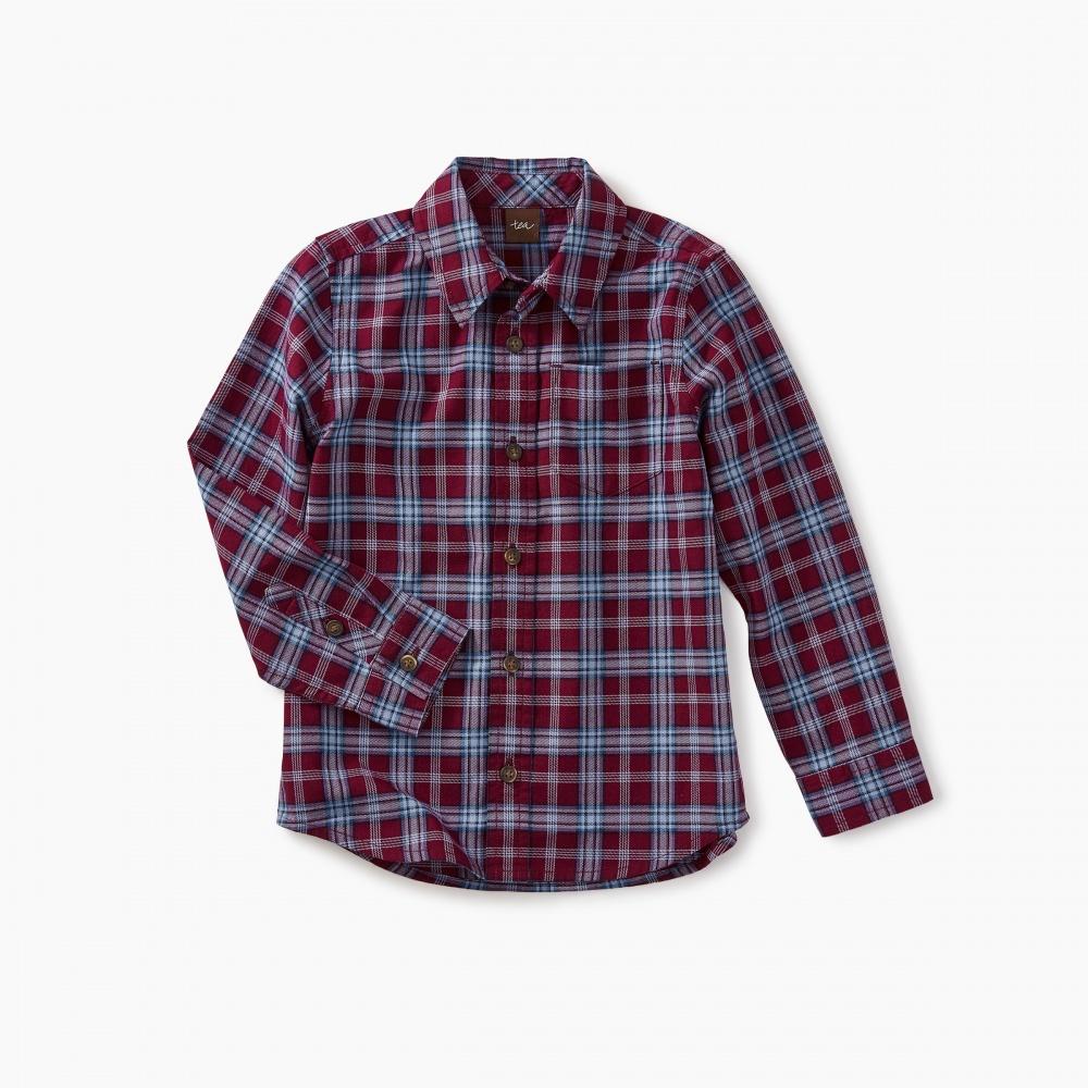 Lakeshore Plaid Button Shirt