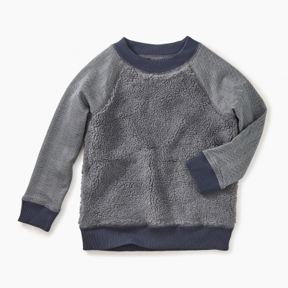 Sherpa Fleece Sweatshirt