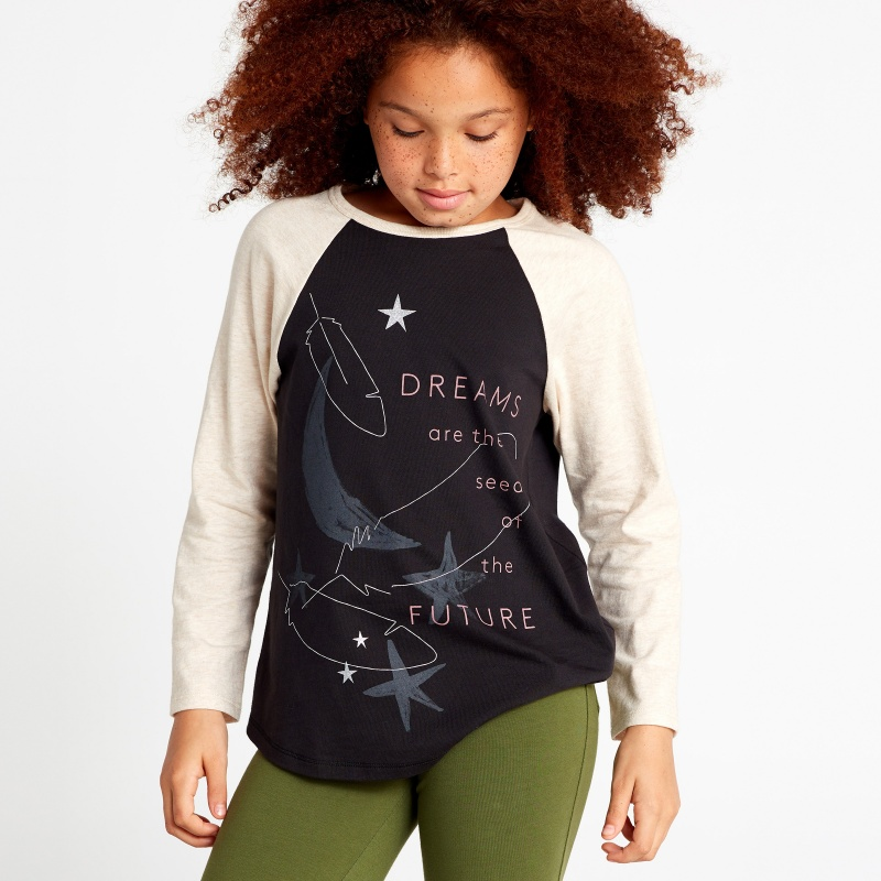 Sweet Dreams Raglan Tee