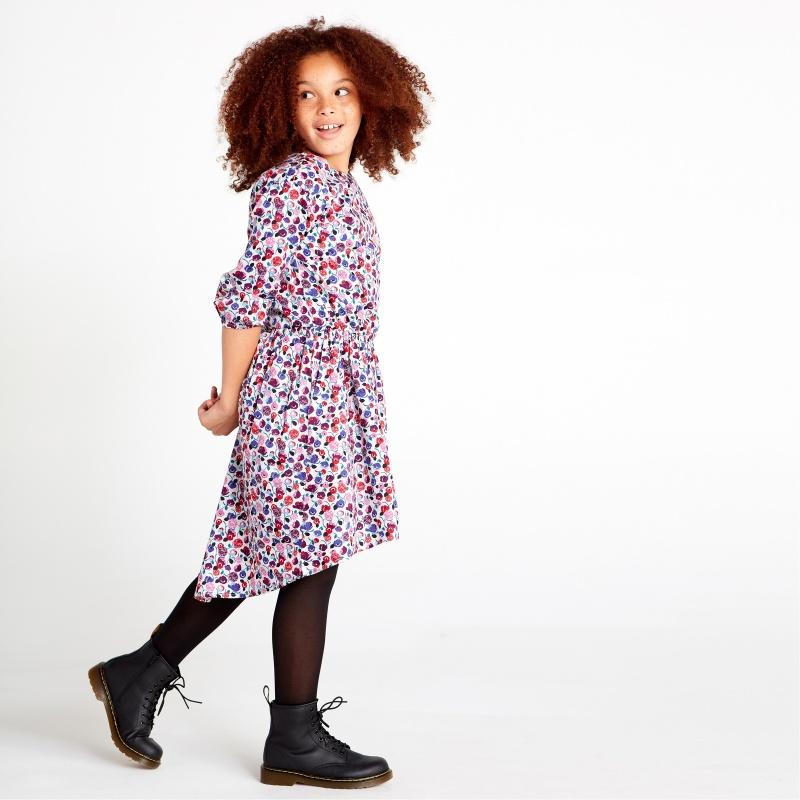 Pattern Hi-Lo Dress
