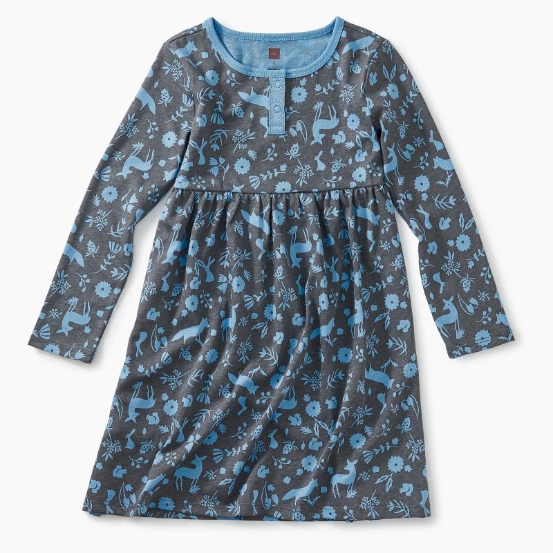 Sparkle Henley Dress