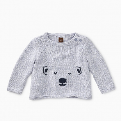 Cute Cub Button Sweater