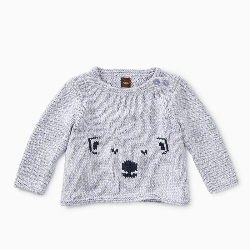 Cute Cub Button Sweater