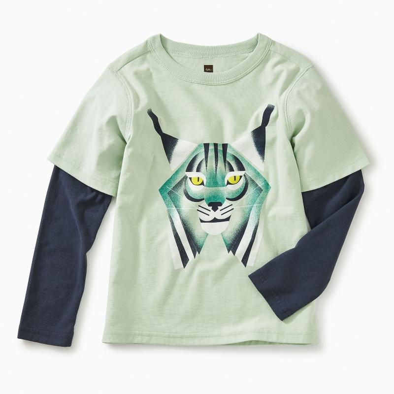 Canyon Lynx Layered Tee