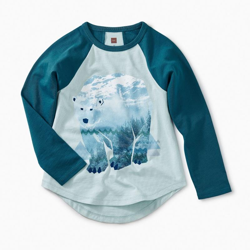 Arctic Bear Raglan Tee