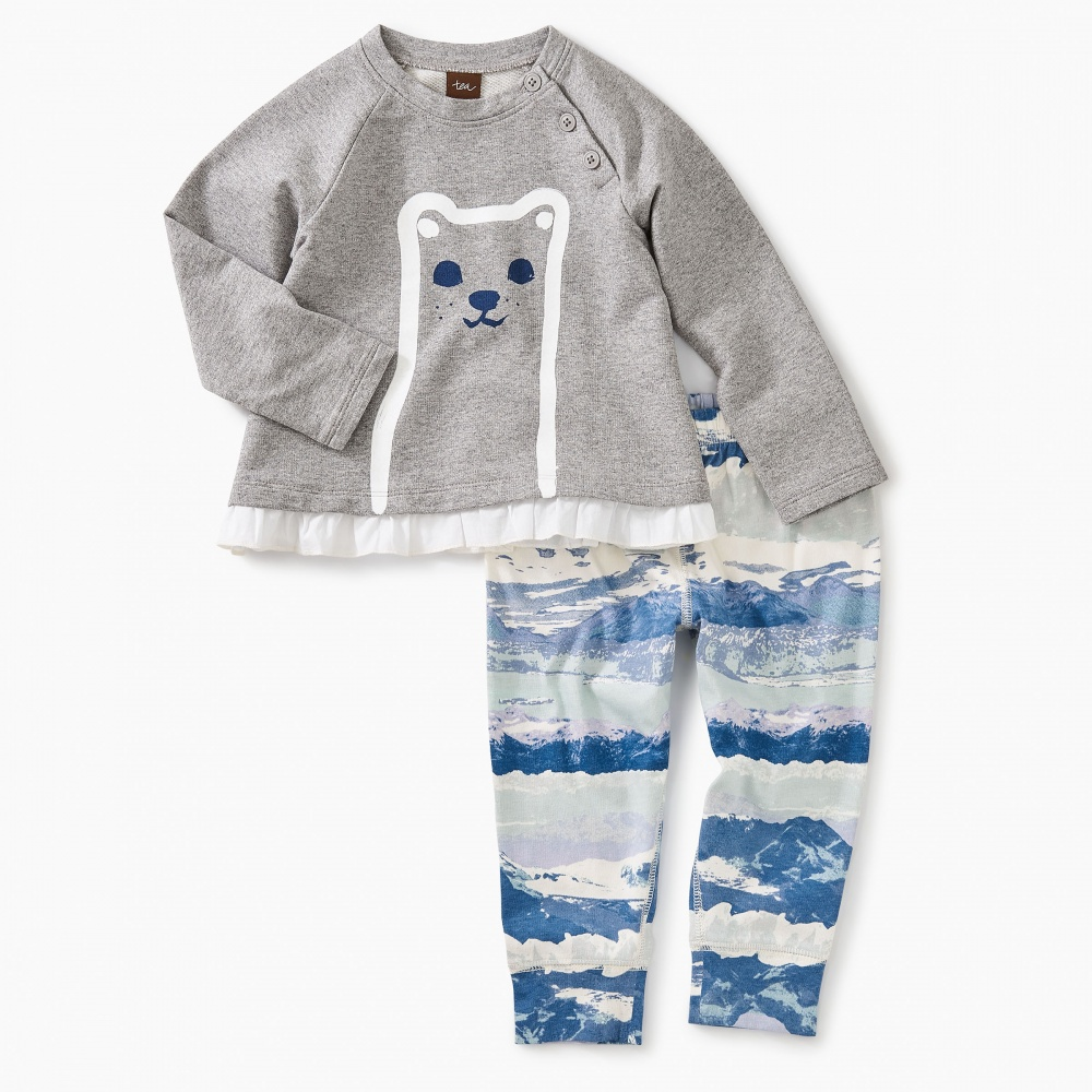 Furry Friend Baby Outfit