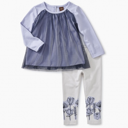 Twirling Tulle Baby Outfit