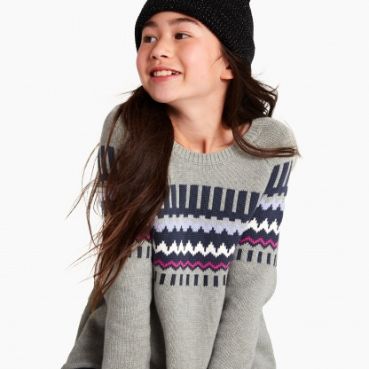 Fairisle Tunic Sweater