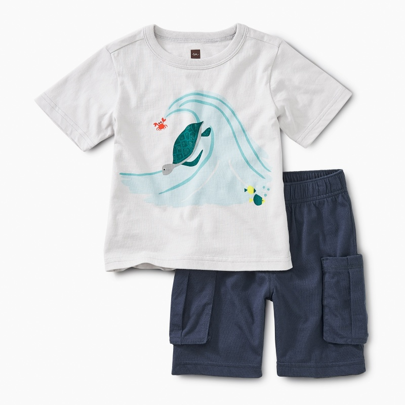 Surfs Up Baby Outfit