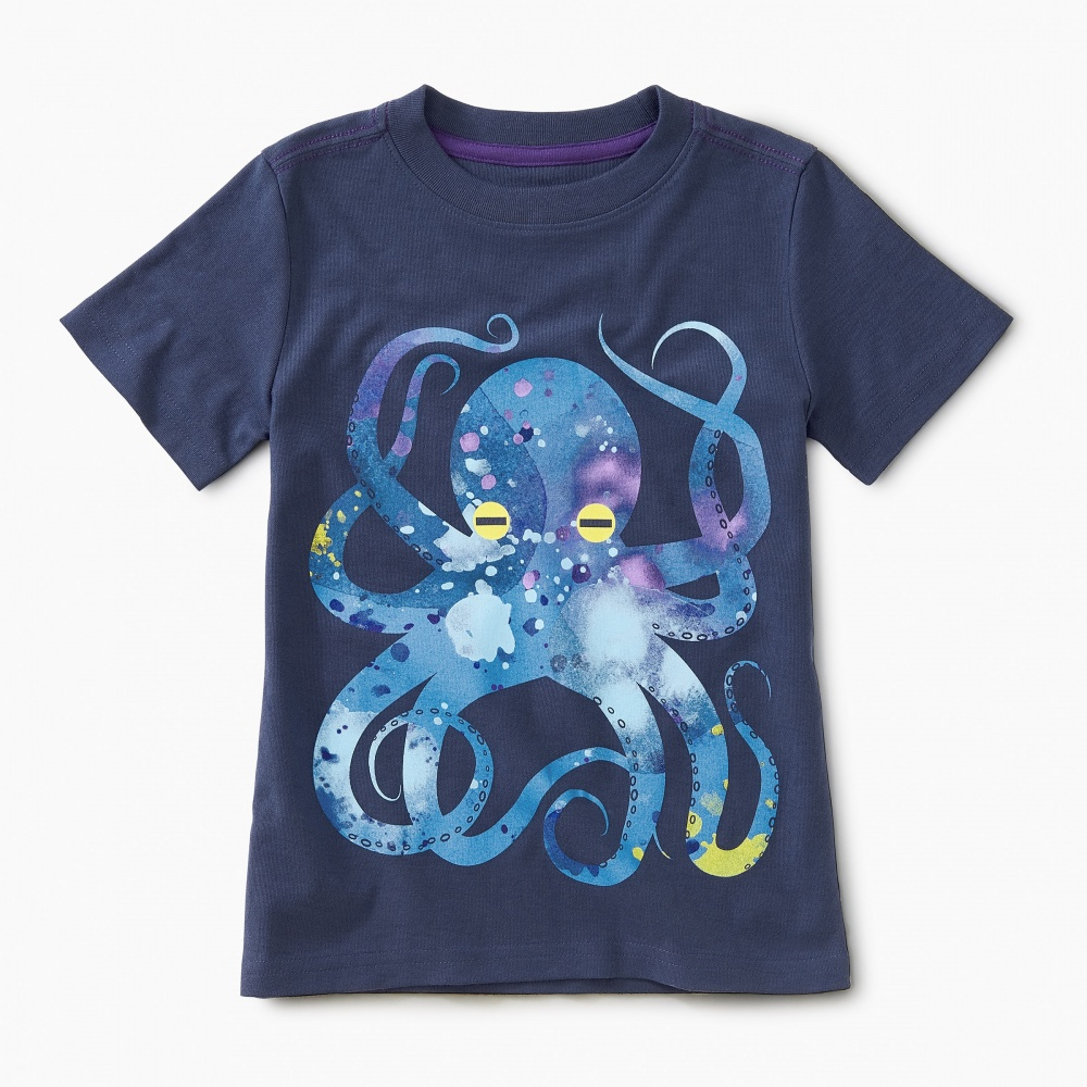 Pop Octopus Graphic Tee