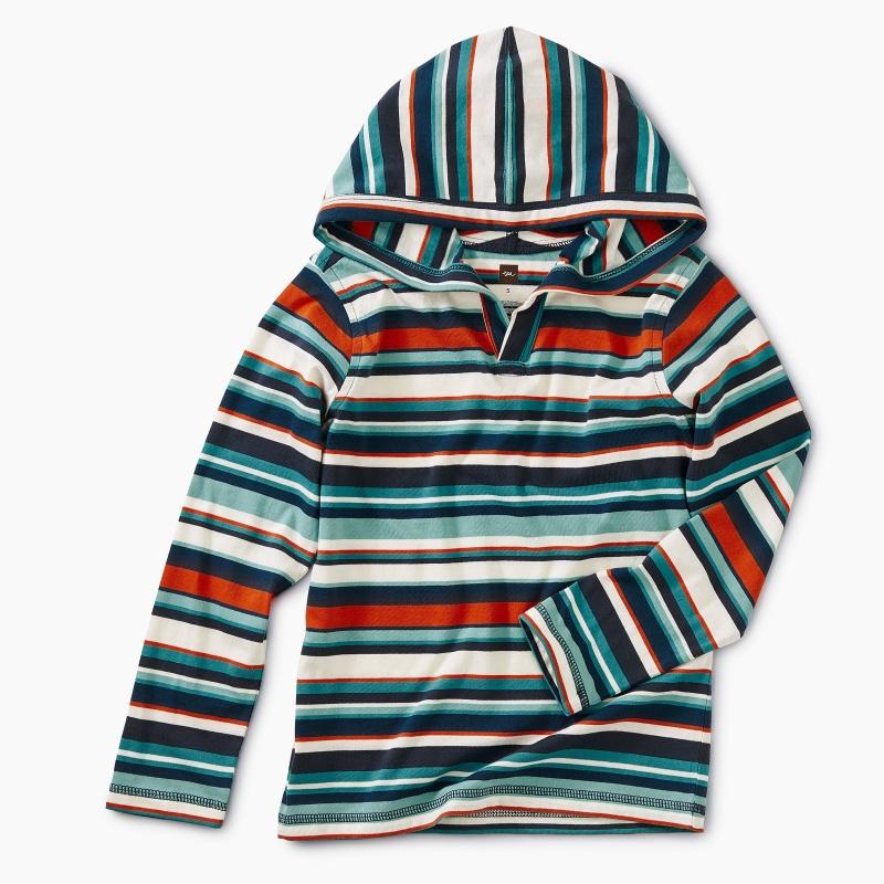 Striped Happy Hoodie