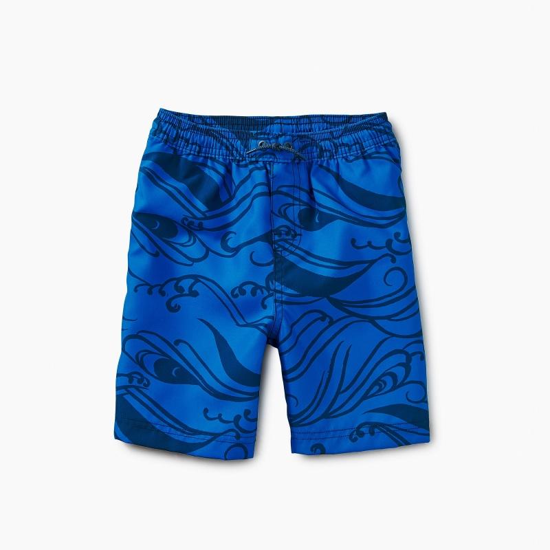 Pattern Swim Trunks