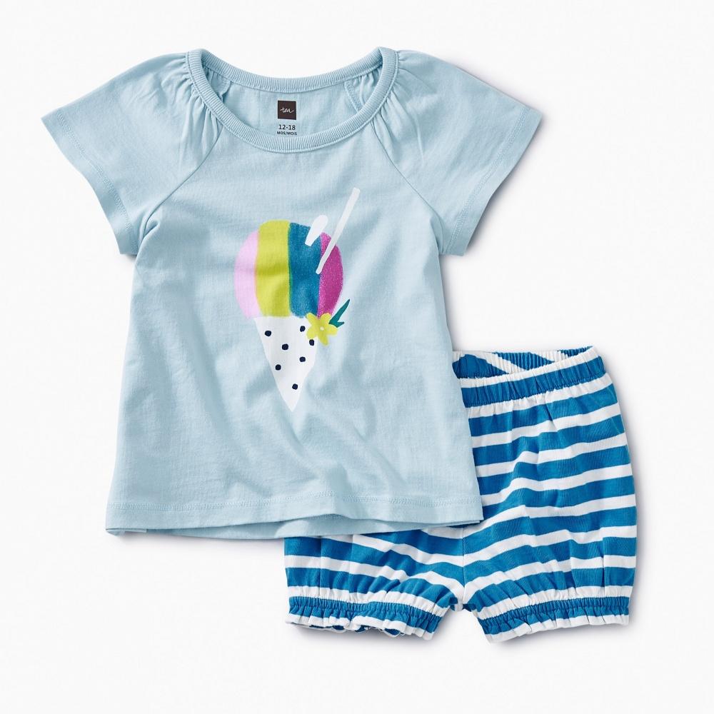 Hawaiian Ice Baby Outfit