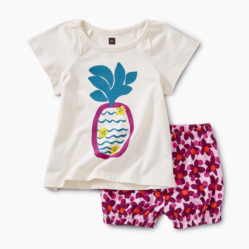 Cheeky Pineapple Baby Outfit