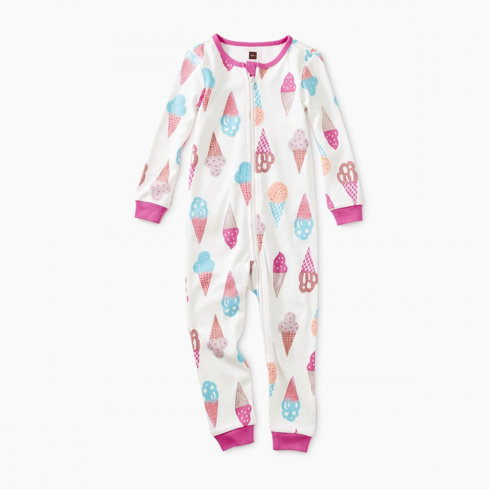 Printed Long Sleeve Baby Pajamas