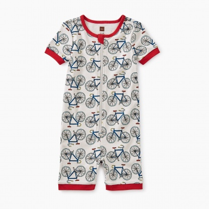Short Sleeve Baby Pajamas