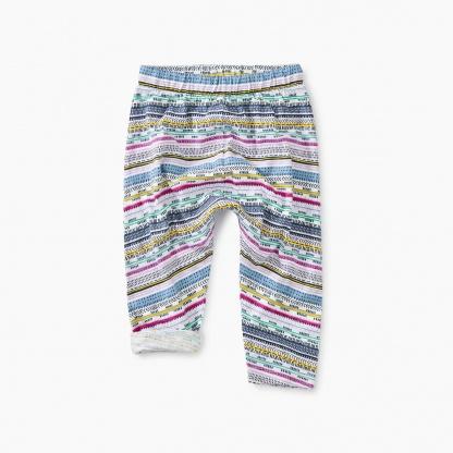 Printed Knit Baby Pant