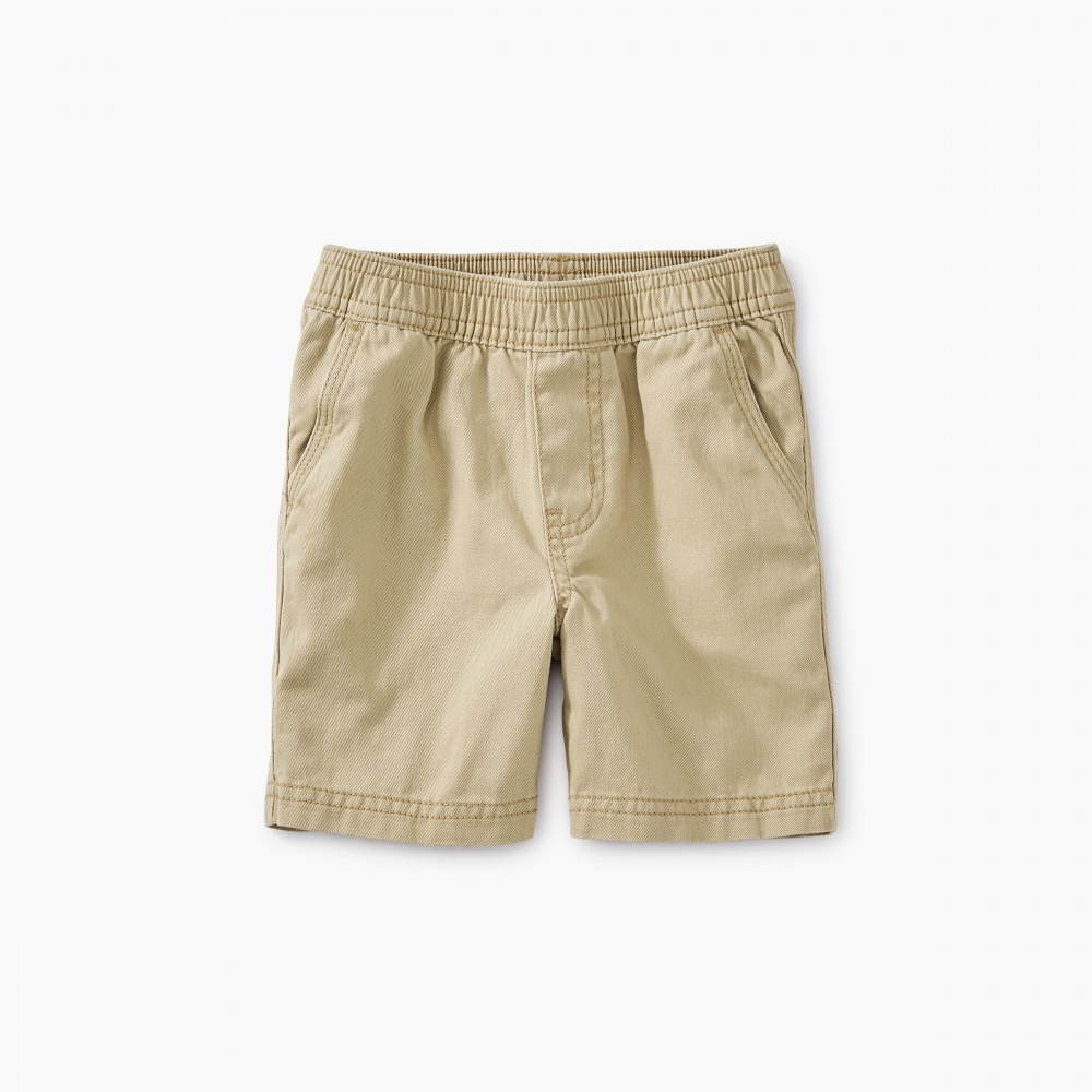 Easy Does It Twill Baby Shorts