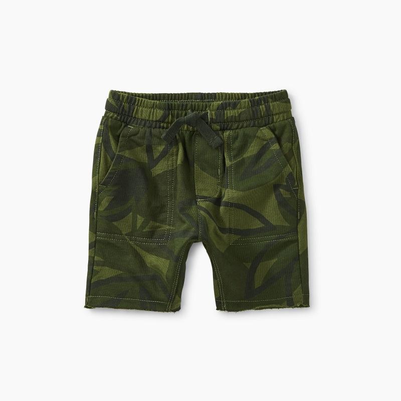Printed Uni Knit Shorts