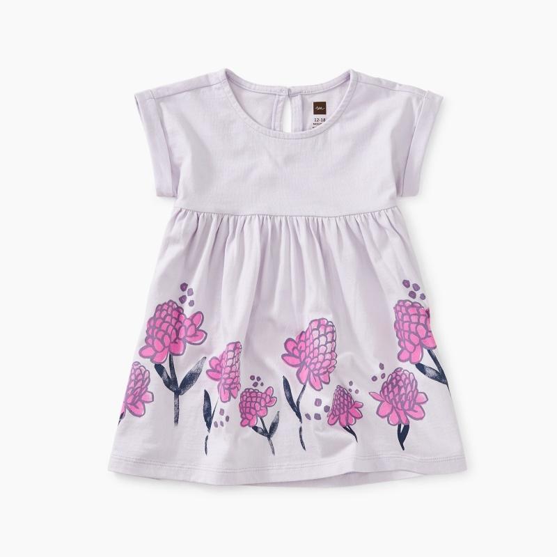 Ginger Flower Empire Baby Dress