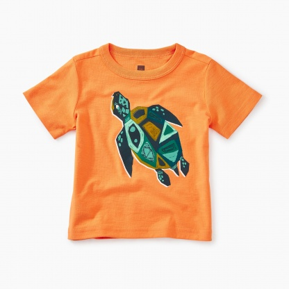 Sacred Turtle Baby Graphic Tee
