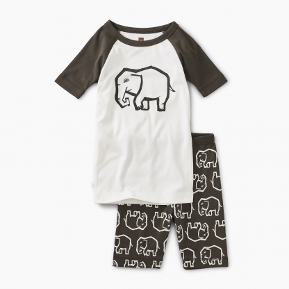 Graphic Shortie Pajamas