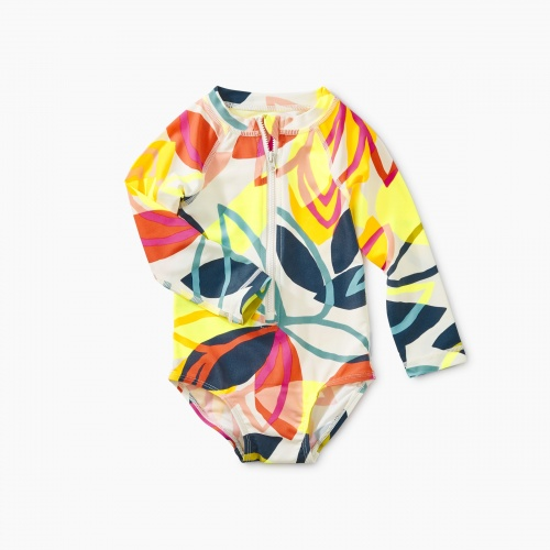 Printed Baby Rash Guard One Piece