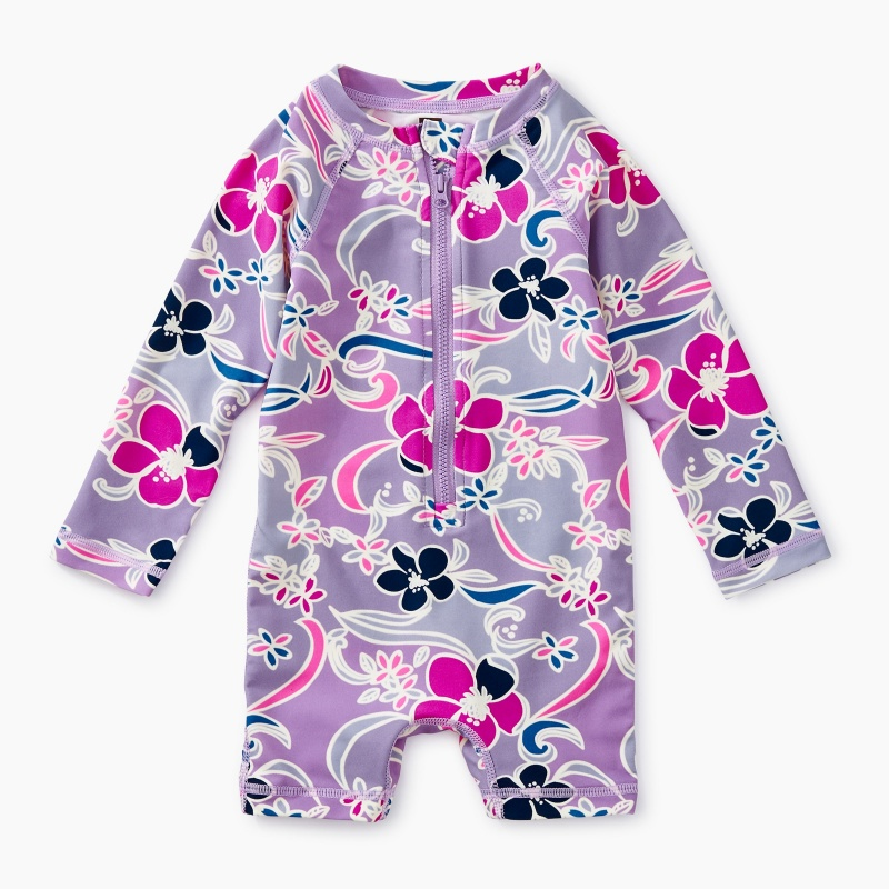 Printed Baby Shortie Rash Guard