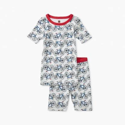 Printed Shortie Pajamas