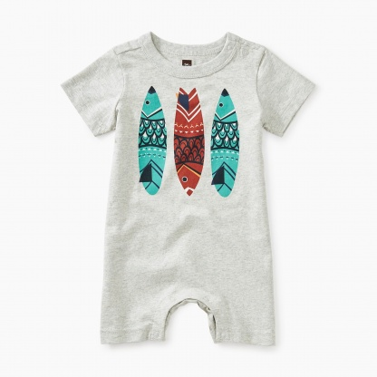 Fish Stick Graphic Romper