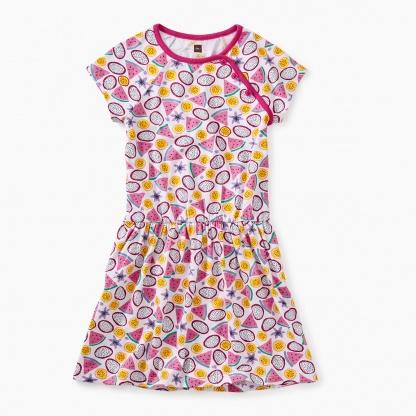 Printed Raglan Dress