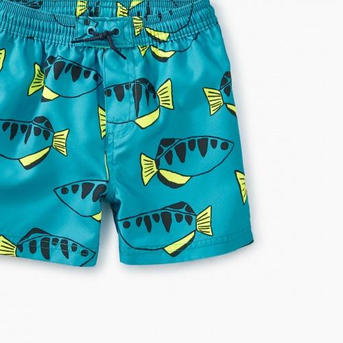 Printed Baby Swim Trunks