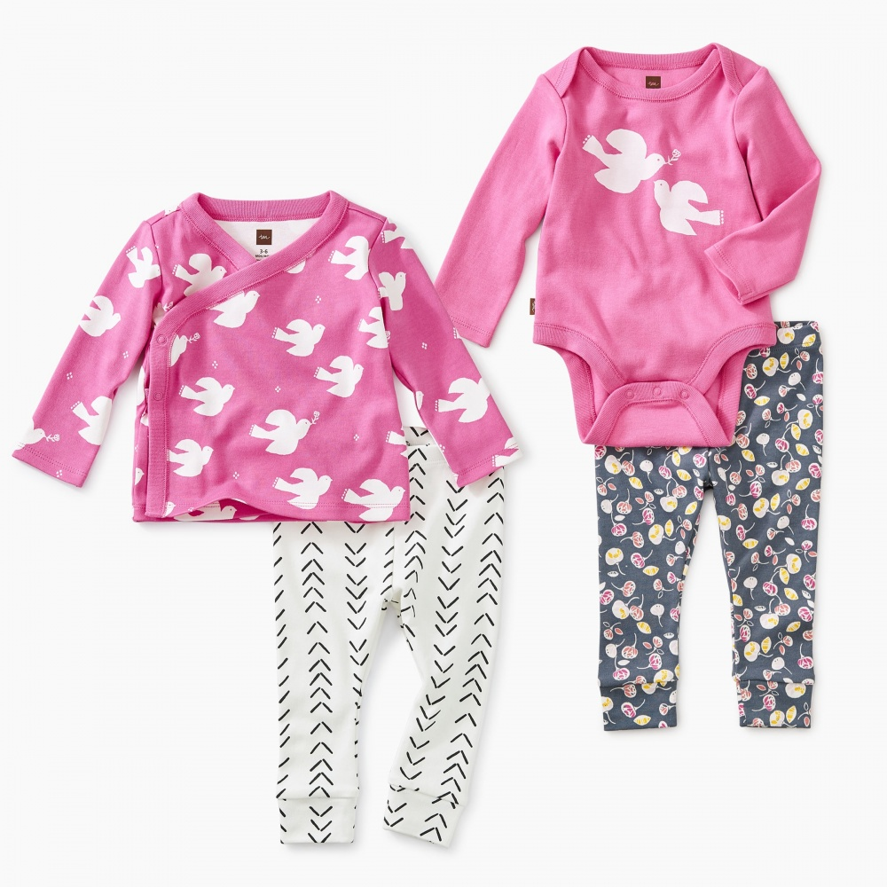 Pretty in Pink Baby Set