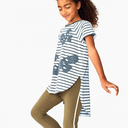 Butterfly Raglan Hi-Lo Top