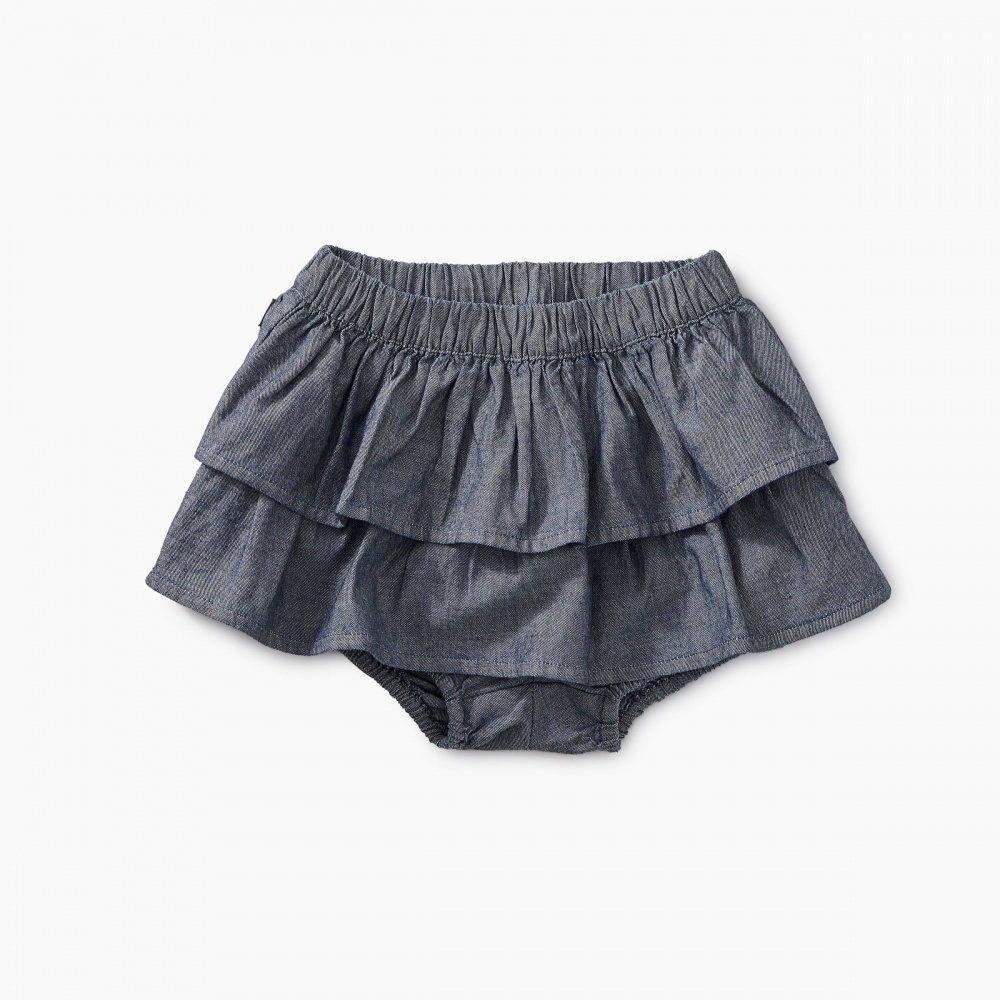 Chambray Ruffle Bloomers