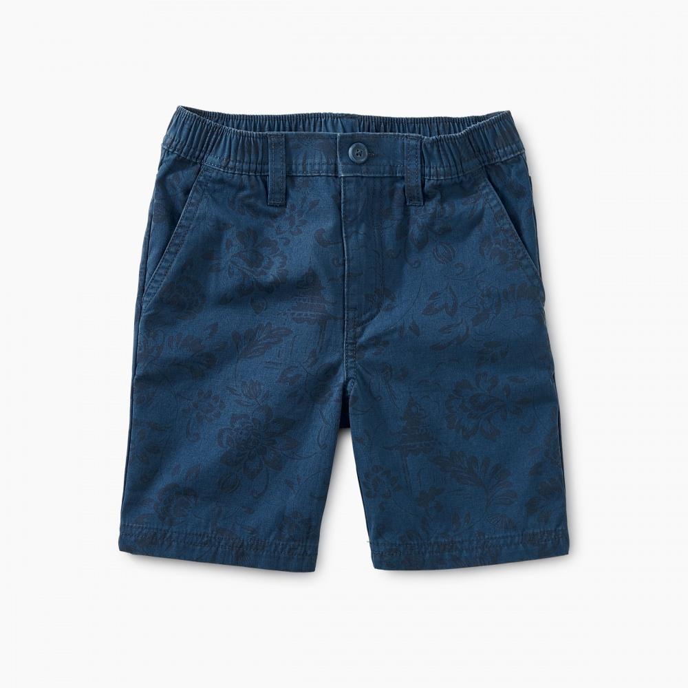 Printed Travel Shorts