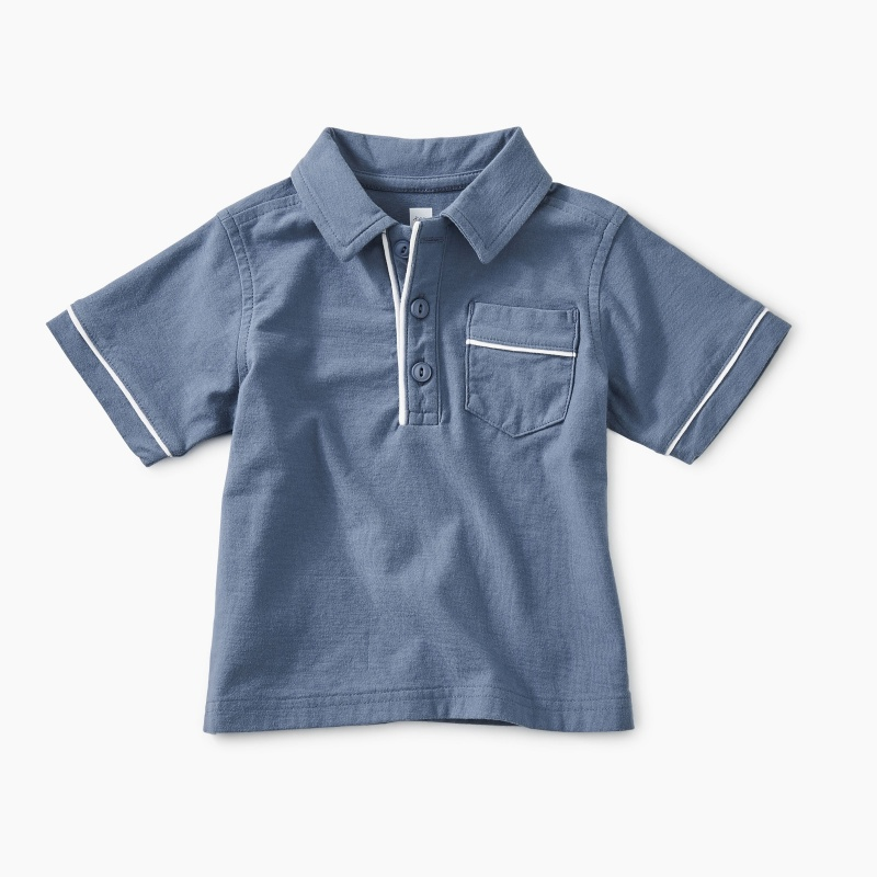 Piped Baby Polo
