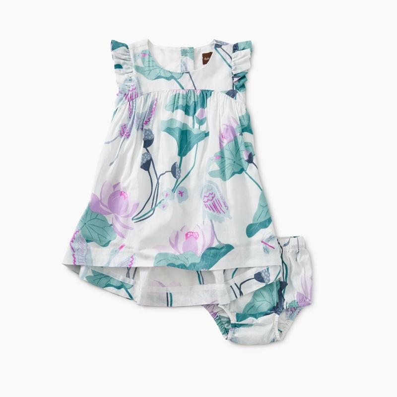 Lotus Hi-Lo Baby Dress