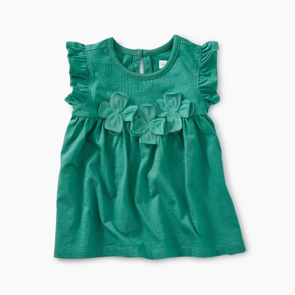 Floral Applique Baby Tunic