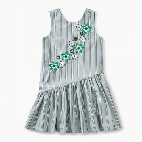 Asymmetrical Skirted Dress