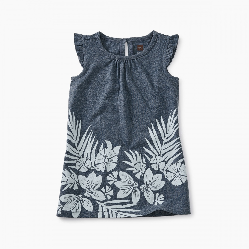 Floral Graphic Baby Dress