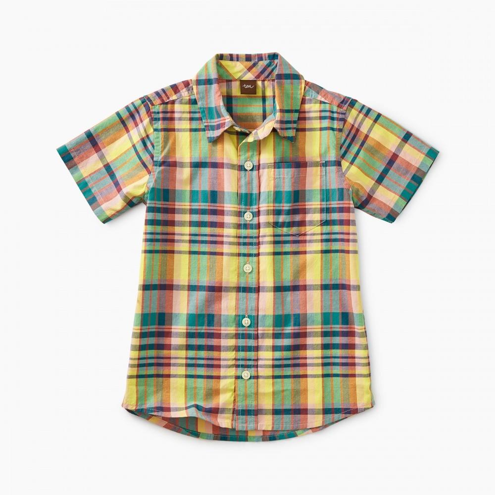 Madras Woven Shirt