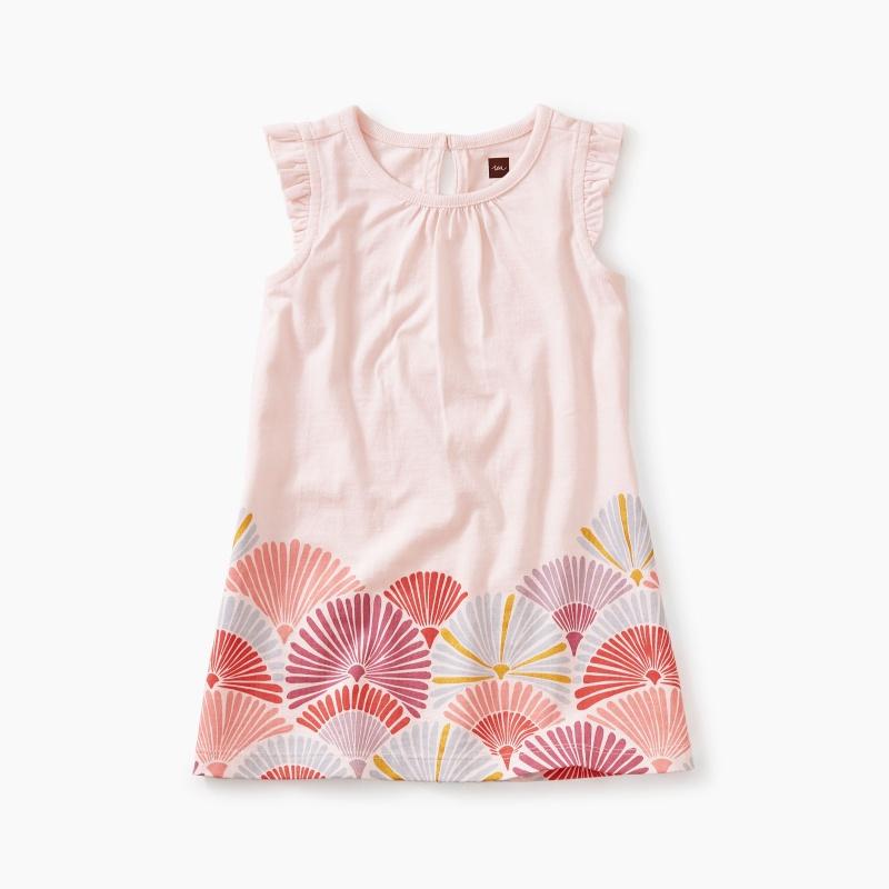 Border Graphic Baby Dress