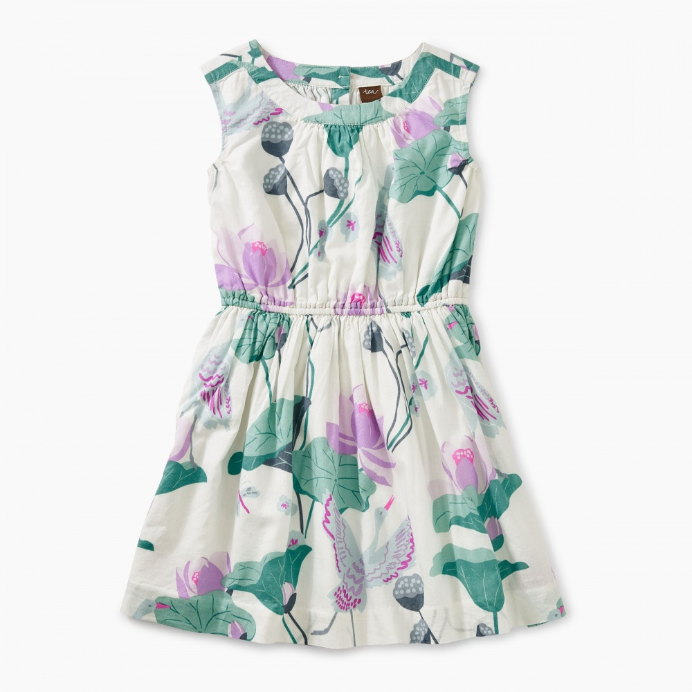 Lotus Flower Woven Dress Tea Collection