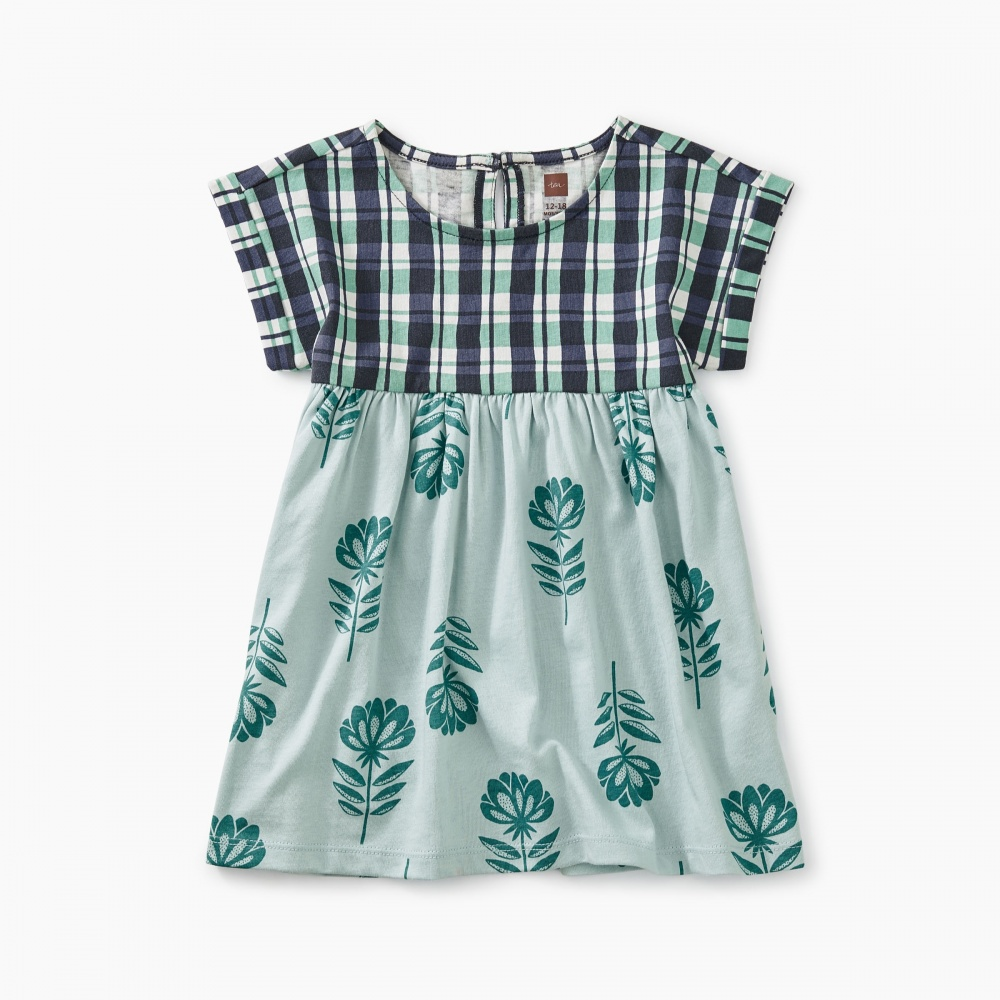 Printed Empire Baby Dress
