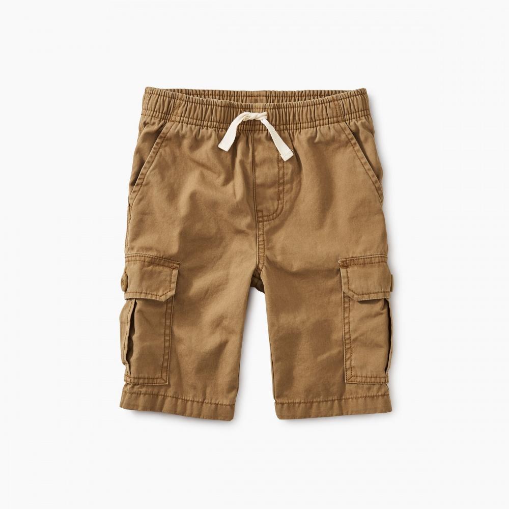 Canvas Cargo Shorts