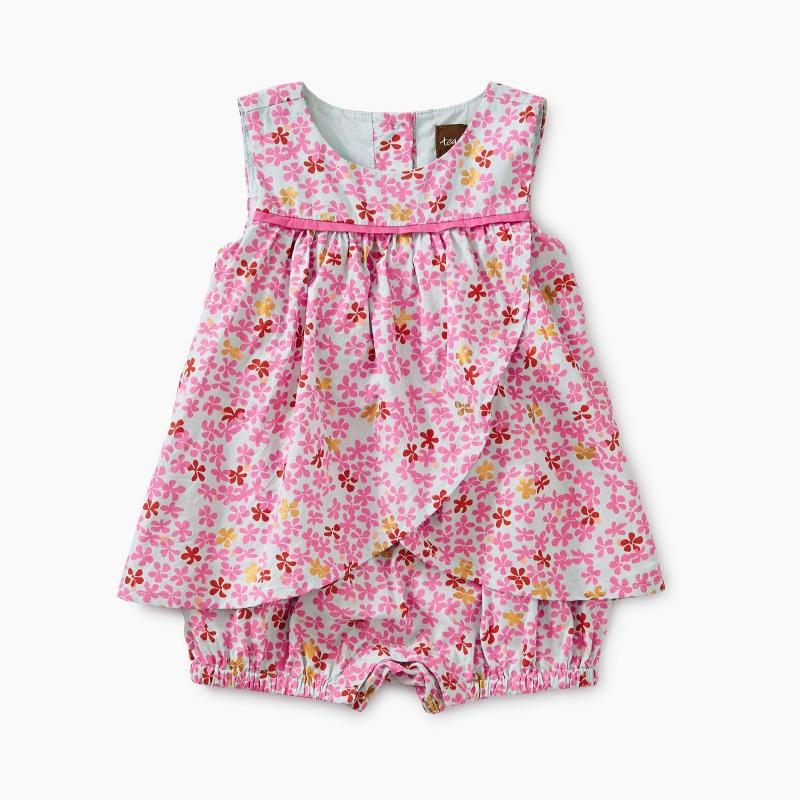 Ditsy Romper Dress