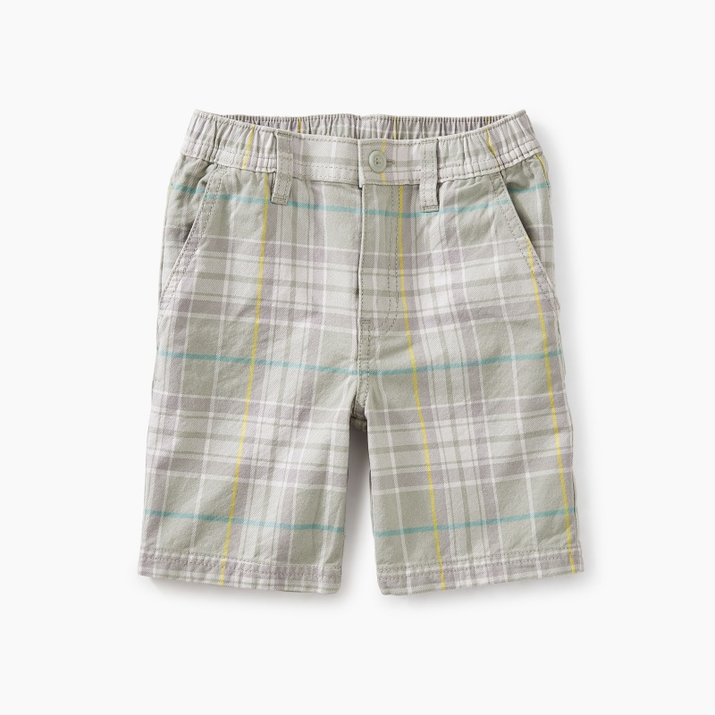 Plaid Travel Short