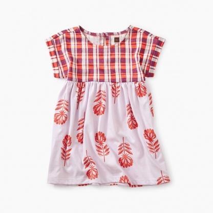 Printed Empire Baby Dress