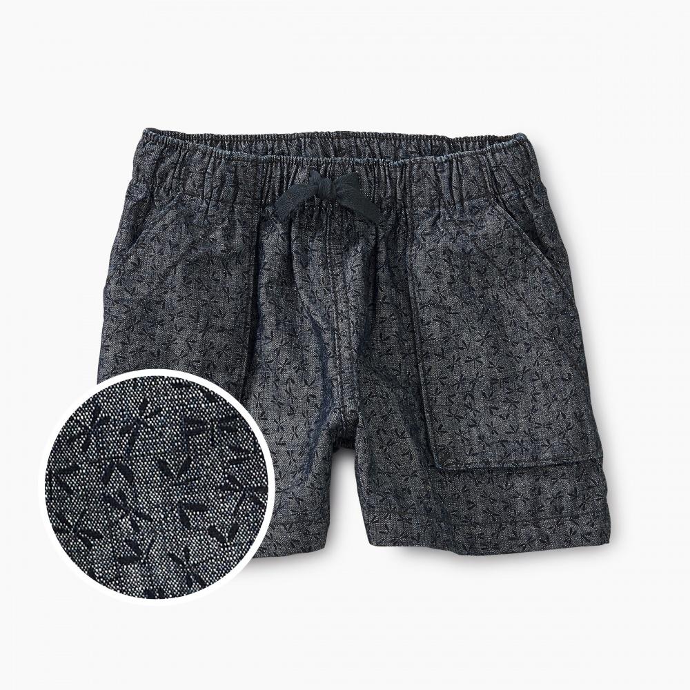 Dragonfly Ditsy Pull-On Shorts